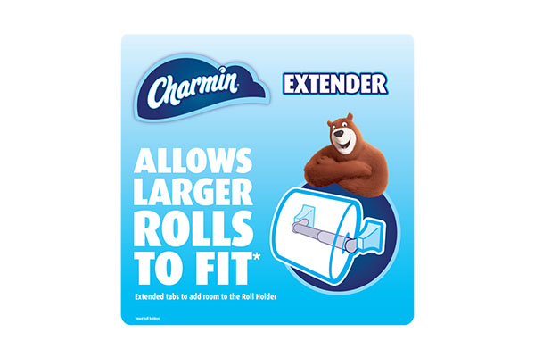 Free Charmin Roll Extender Sample