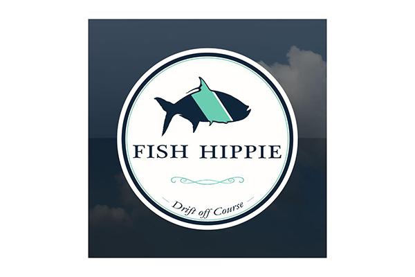 Free Fish Hippie Sticker Sample