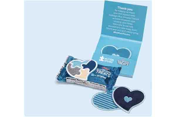 Free Rice Krispies Treats Sensory Love Notes Sticker