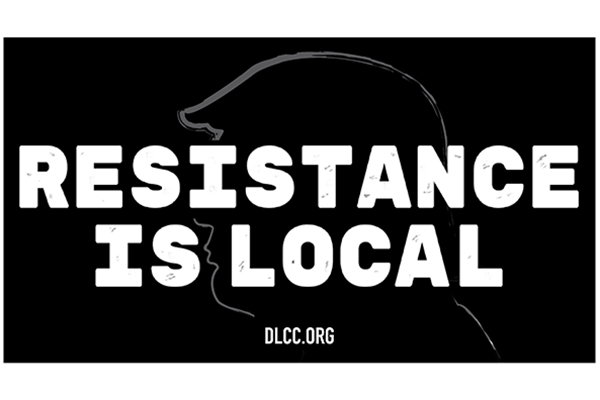 Free Resistance Is Local Sticker