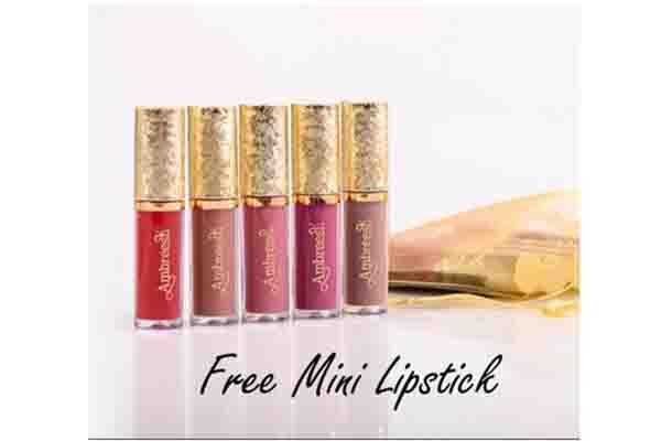 Free Ambreesh Mini Lipstick