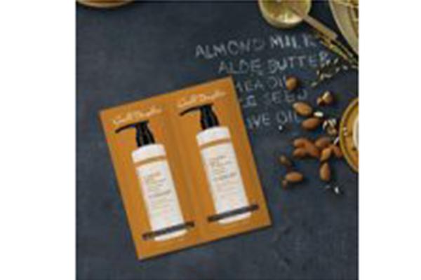 Free Almond Oil Shampoo and Conditioner