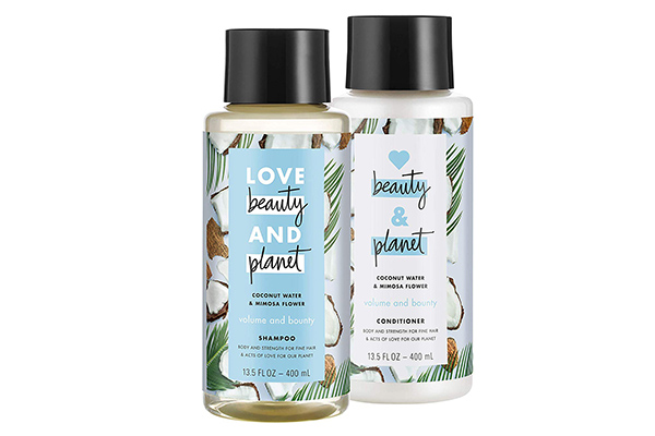 Free Love Beauty and Planet Shampoo & Conditioner