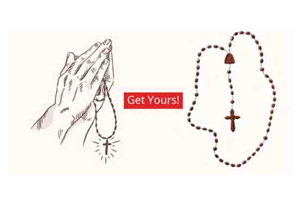 Free ROSARY Necklace