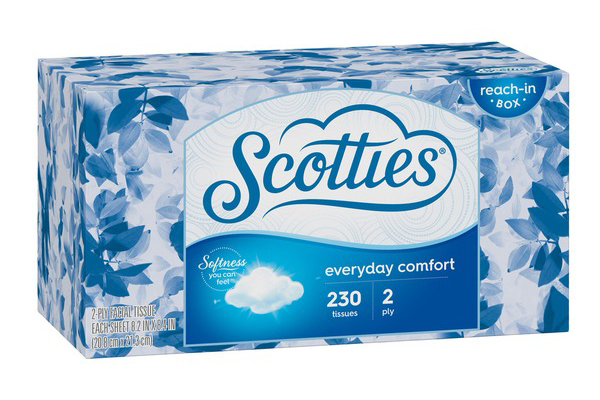 Free Scotties Facial Tissues