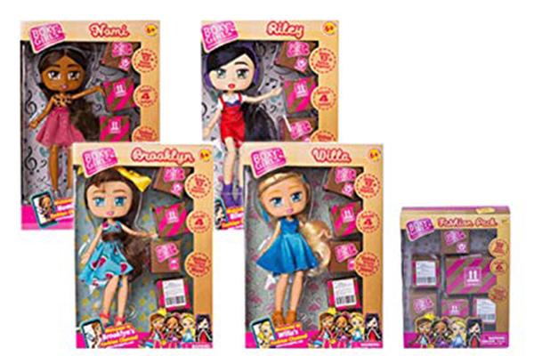 Free Boxy Girls Doll