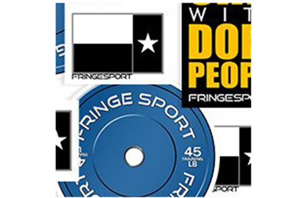 Free FRINGE Sport Sticker