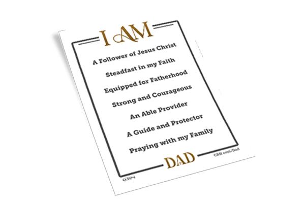 Free I Am Dad Mirror Cling