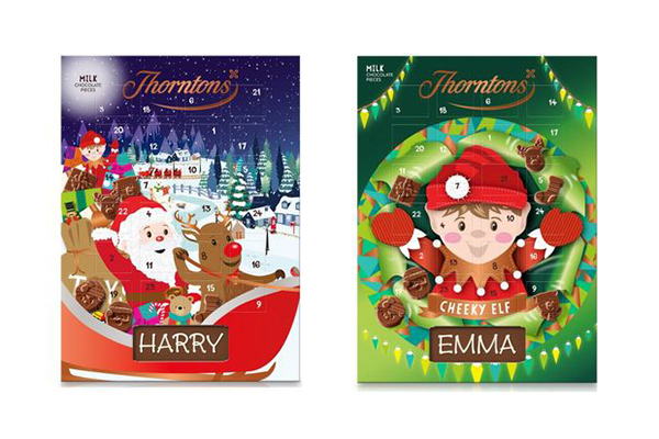 Free Thorntons Chocolate Calendar