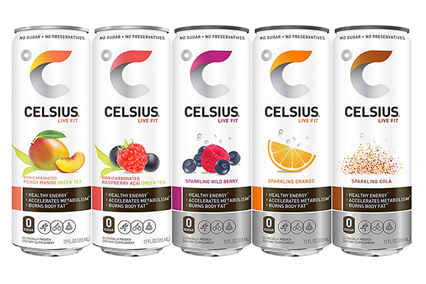 Free CELSIUS Fitness Drink
