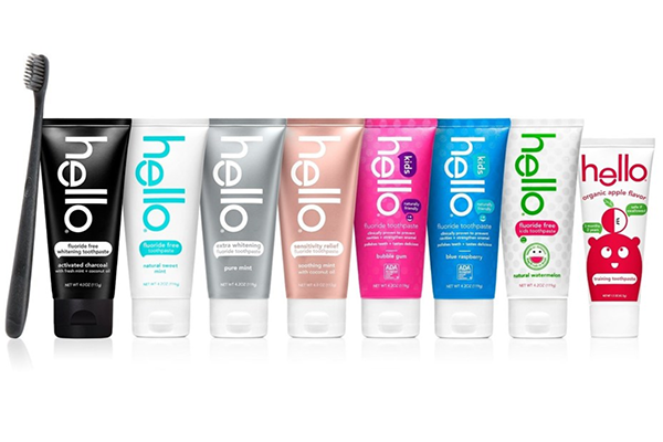 Free Hello Toothpaste & Bamboo Toothbrush