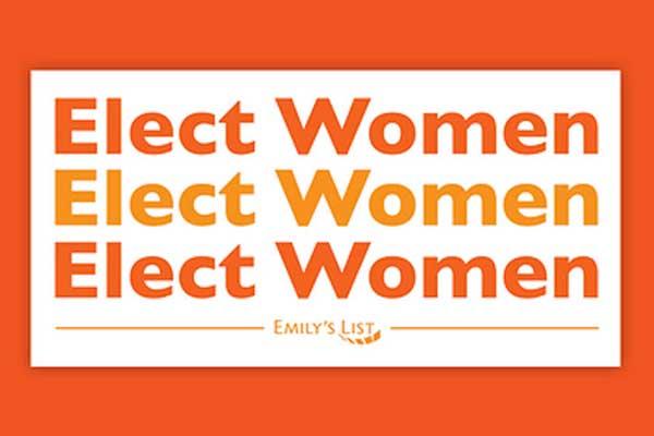 Free Elect Women Sticker