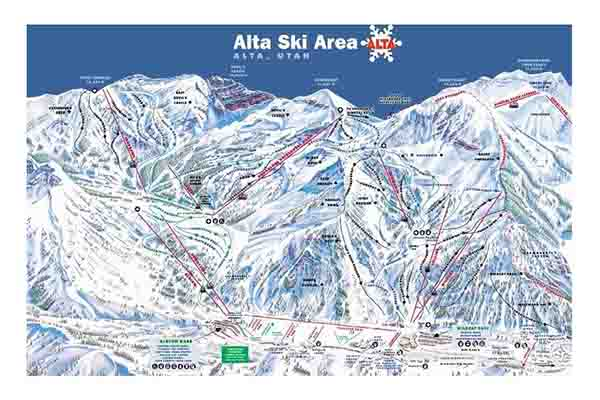 Free Alta Ski Trail Map
