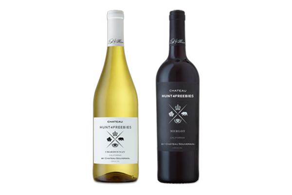 Free Chateau Souverain Wine Labels