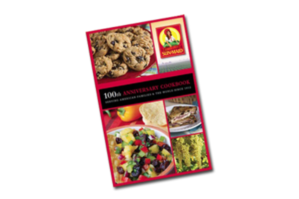 Free Sun-Maid 100th Anniversary CookBooks