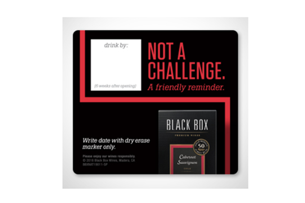 Free Black Box Fridge Magnet