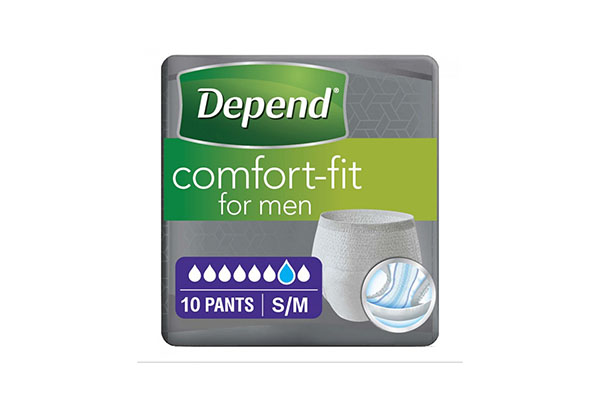 Free Depend Pad Sample