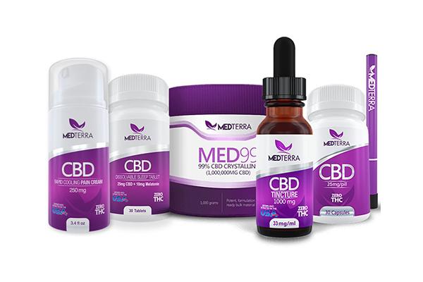 Free Medterra CBD Products