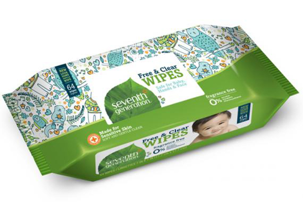 Free Clear Baby Wipes
