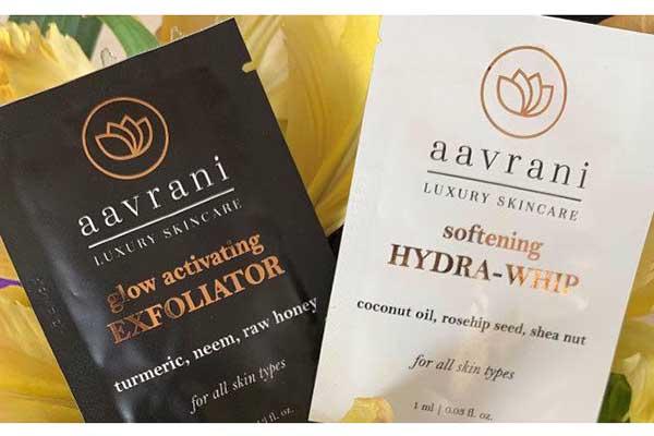 Free Aavrani SkinCare Samples