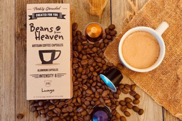 Free Beans From Heaven Coffee Capsules