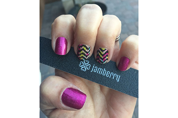 Free Jamberry Nail Design