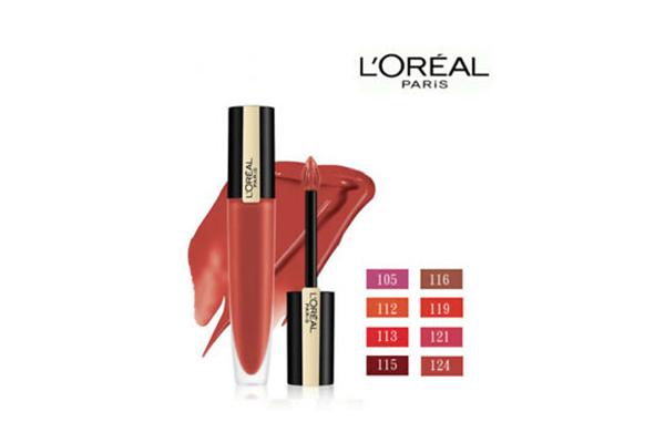 Free L'Oreal Paris Matte Liquid Lipstick