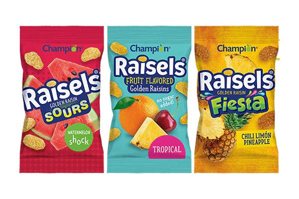Free Raisels Snacks