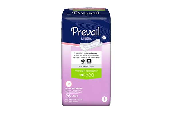 Free Prevail Pantyliners