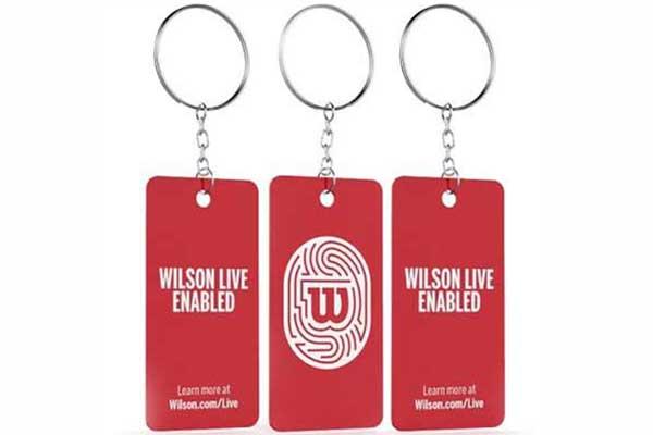 Free Wilson Live Key Chain