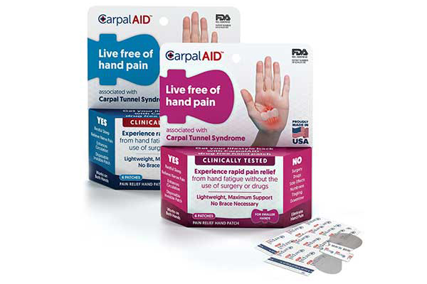 Free Hand Pain Relief Patches