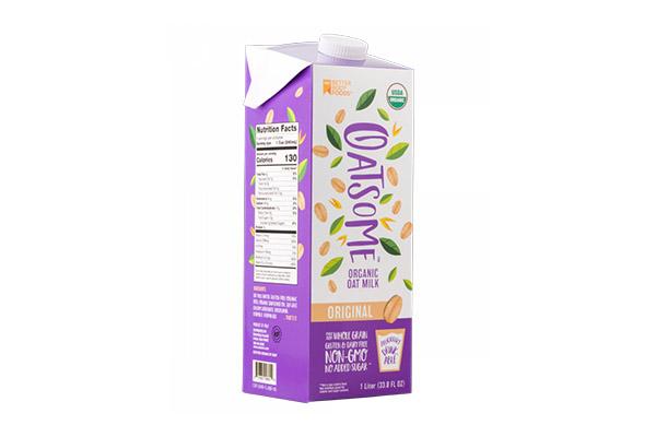Free Oatsome Organic Milk