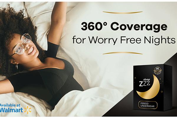 Free Always ZZZ Period Underwear