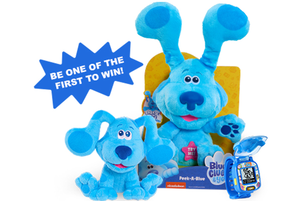 Free Blue's Clues & You! Beanbag Plush
