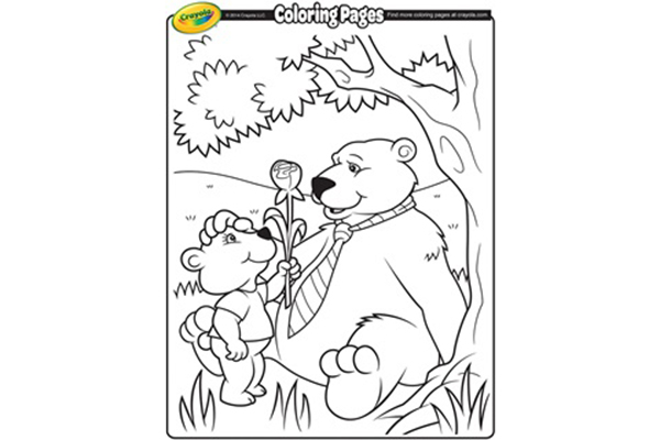Free Crayola Father's Day Coloring Pages