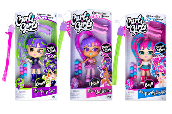 Free CurliGirls Hair Styling Party Kit