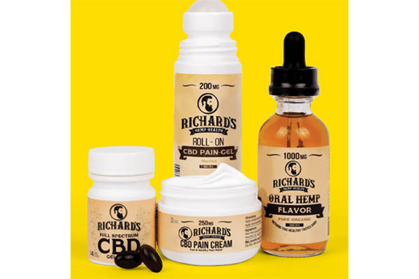 Free Richard's Hemp Health CBD Oil Bundle
