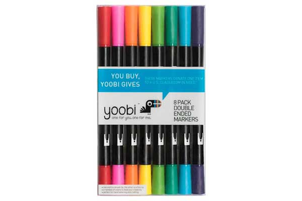 Free Yoobi Color Pen Set