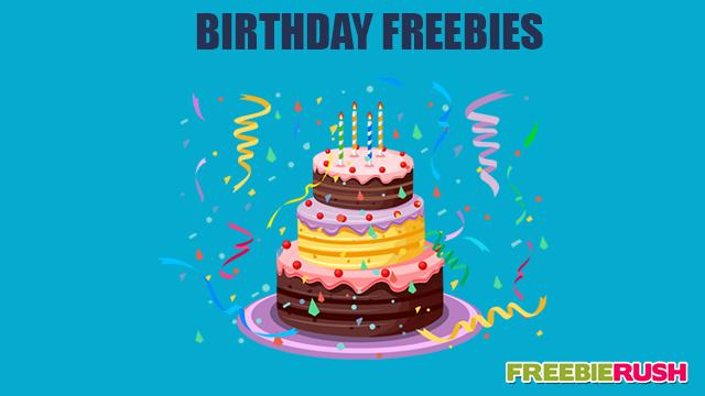 12 Amazing Freebies Program For Your Birthday