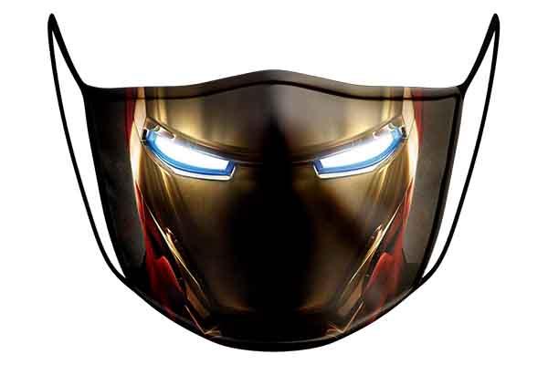 Free Iron Man Face Mask