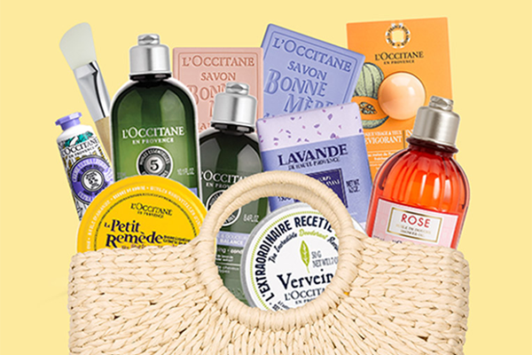 Free L'Occitane Summer Beauty Bag
