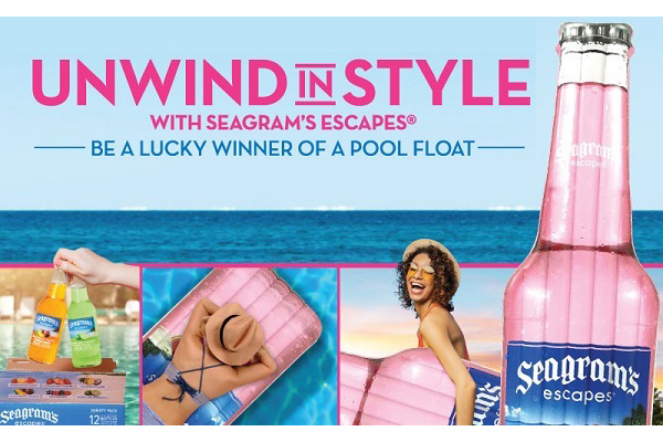 Free Seagram's Pool Float