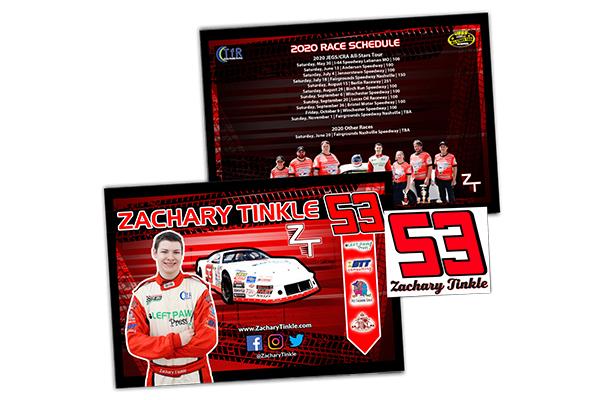 Free Zachary Tinkle Hero Card