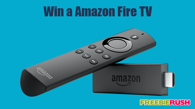 Win a Amazon Fire TV Stick