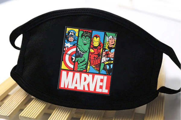 Free Marvel Face Mask