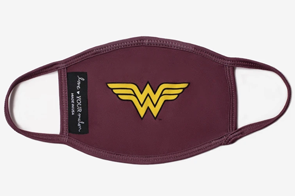 Free Wonder Woman Face Mask