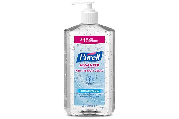 Free Purell Sanitizer