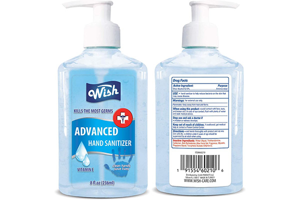 Free Hand Sanitizer