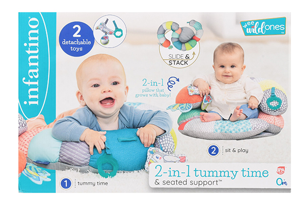 Free 2-in-1 Tummy Time & Seat