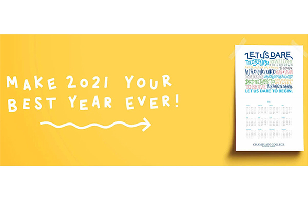 Free Champlain 2021 Calendar